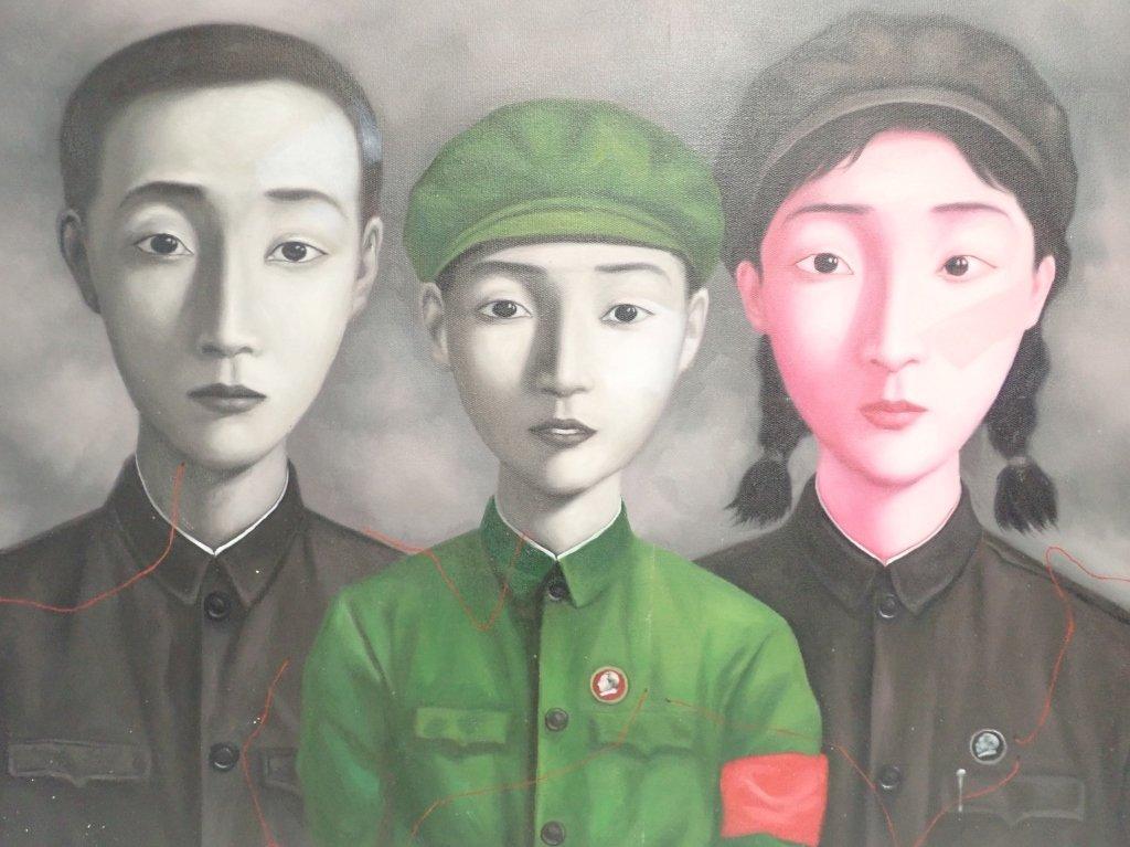 Zhang Xiaogang, Big Family Series: Bloodline - 9