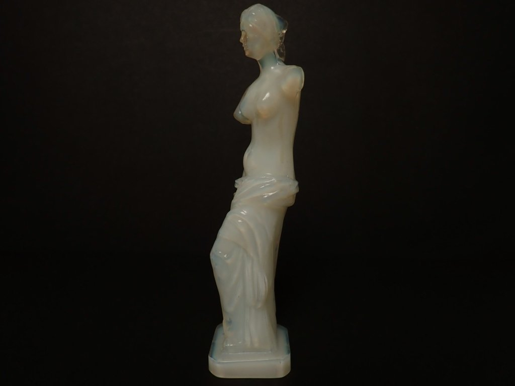 Opalescent French Glass Figurine Signed Lalique - 2