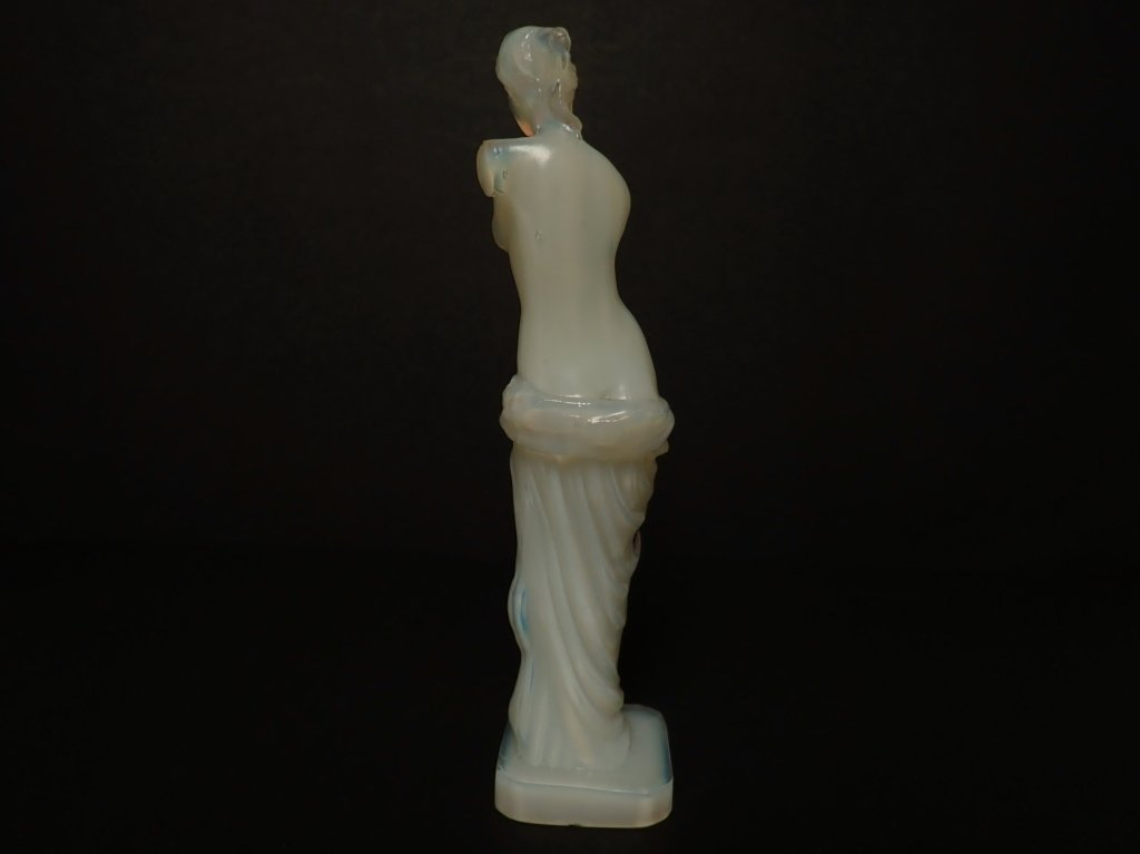 Opalescent French Glass Figurine Signed Lalique - 3