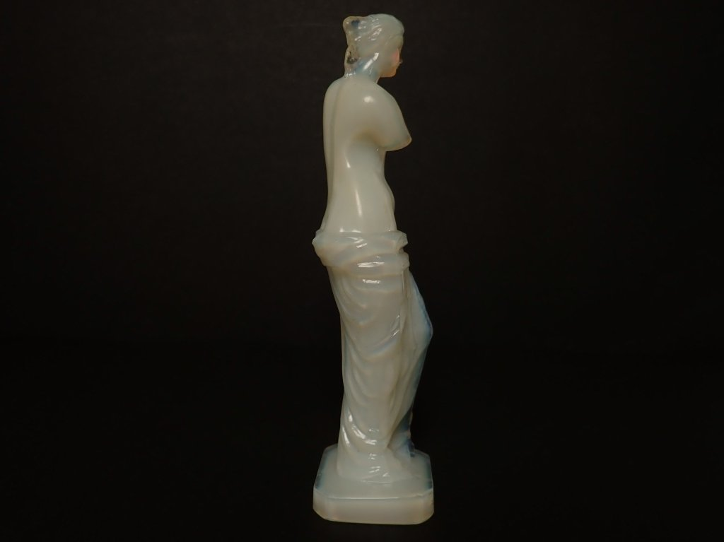 Opalescent French Glass Figurine Signed Lalique - 4