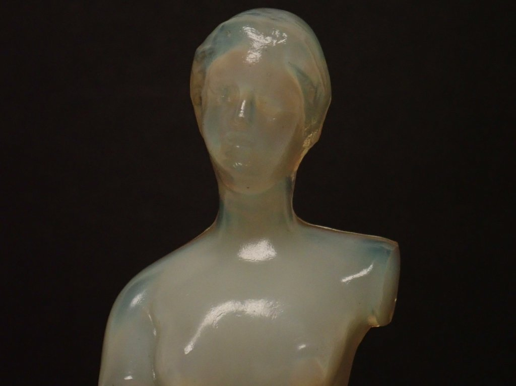 Opalescent French Glass Figurine Signed Lalique - 7
