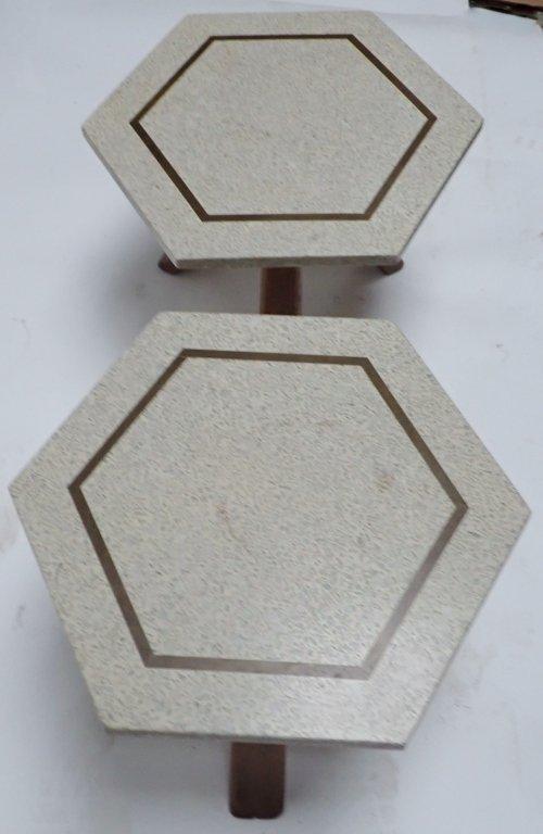 Harvey Probber Hexagonal Side Tables - 10
