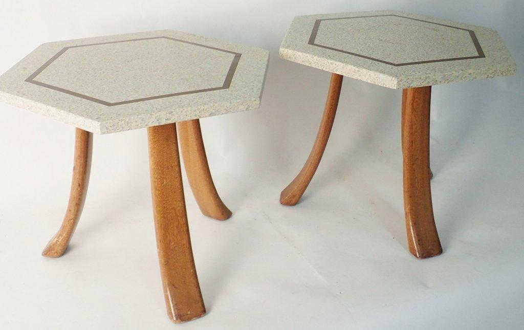 Harvey Probber Hexagonal Side Tables - 3