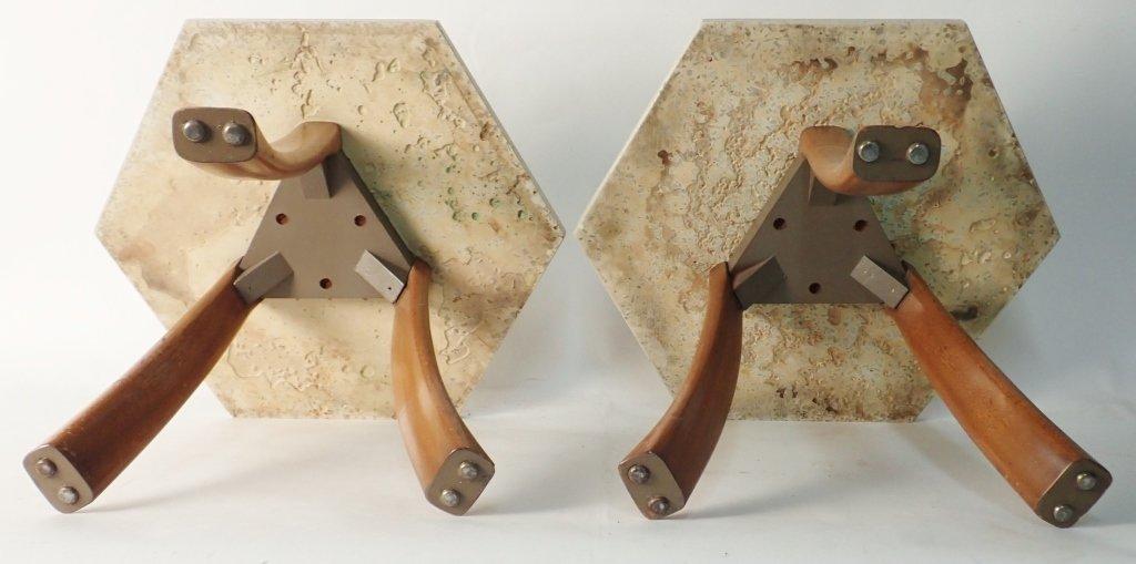 Harvey Probber Hexagonal Side Tables - 4