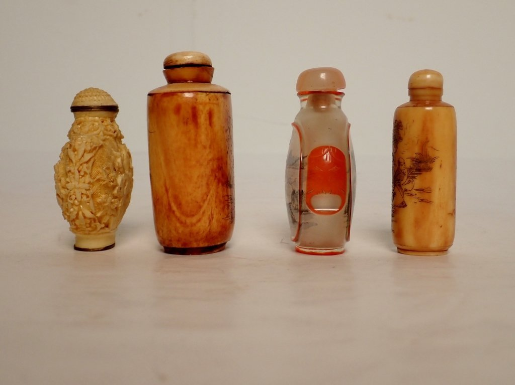 Group of Four Asian Snuff Bottles - 2