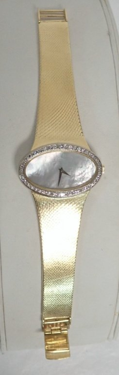 Chopard L.U.C 18K Gold & Diamond Ladies Watch