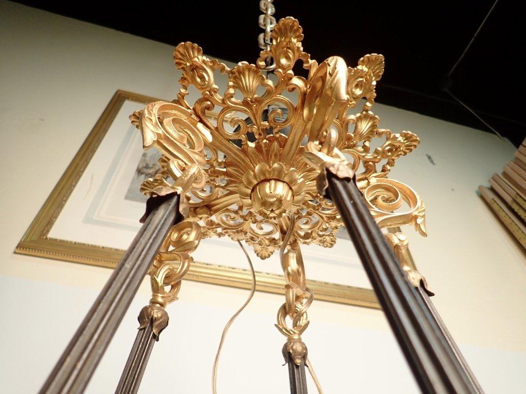 19th Century Louis Philippe Bronze Chandelier - 10