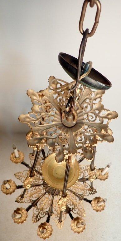19th Century Louis Philippe Bronze Chandelier - 3