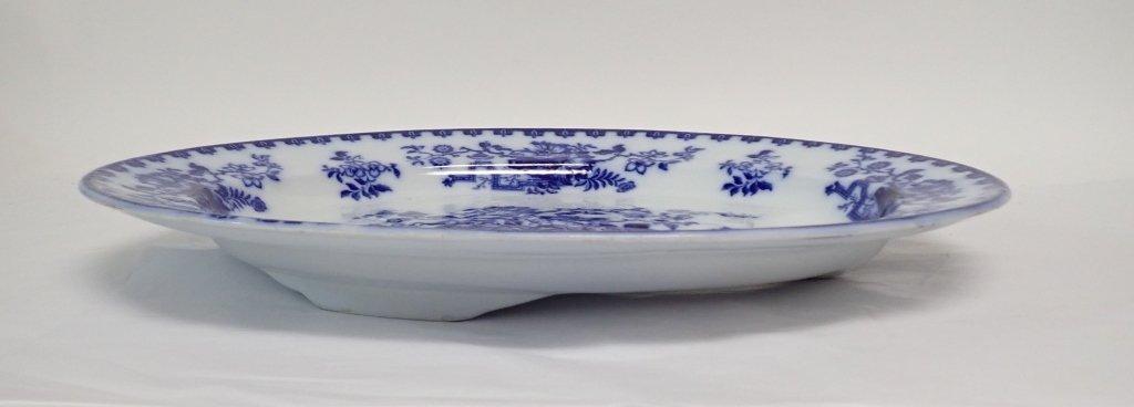 Blue & White Ashford Ironstone Serving Platter - 2