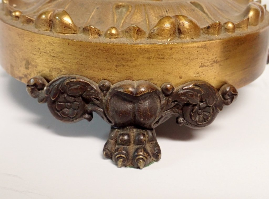 Pair of French Charles X Gilted Bronze Garnitures - 6