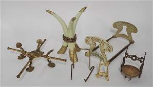 Bronze & Brass Displays & Decorative Stands