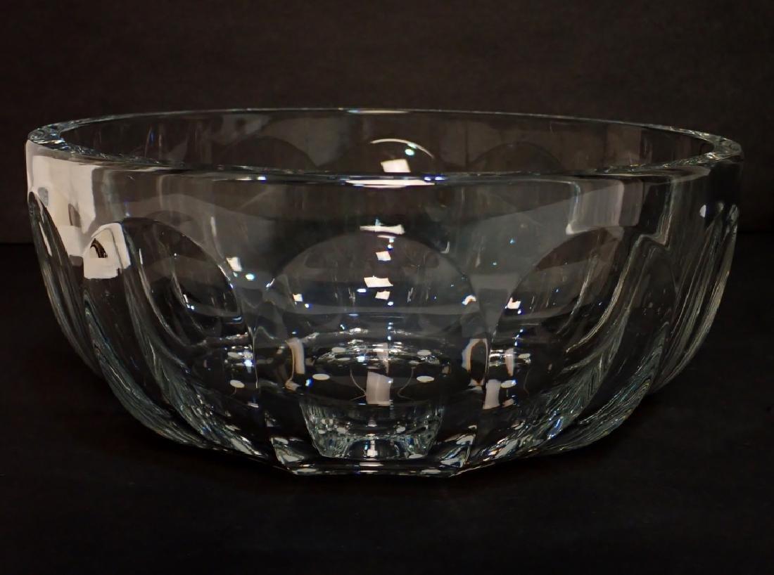 Baccarat France Cut Crystal Bowl