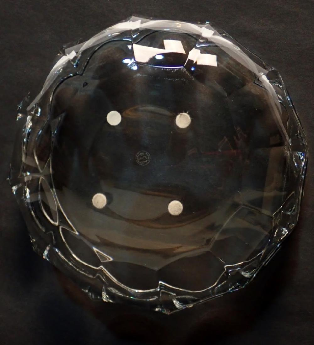 Baccarat France Cut Crystal Bowl - 3
