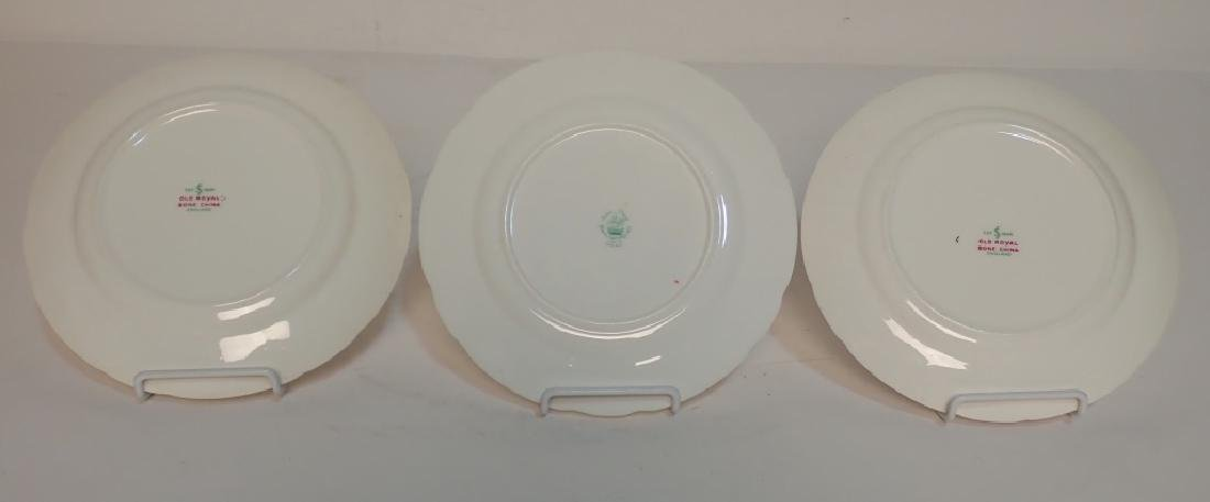Grouping of Fine Bone China Tea Cup & Saucer Sets - 3