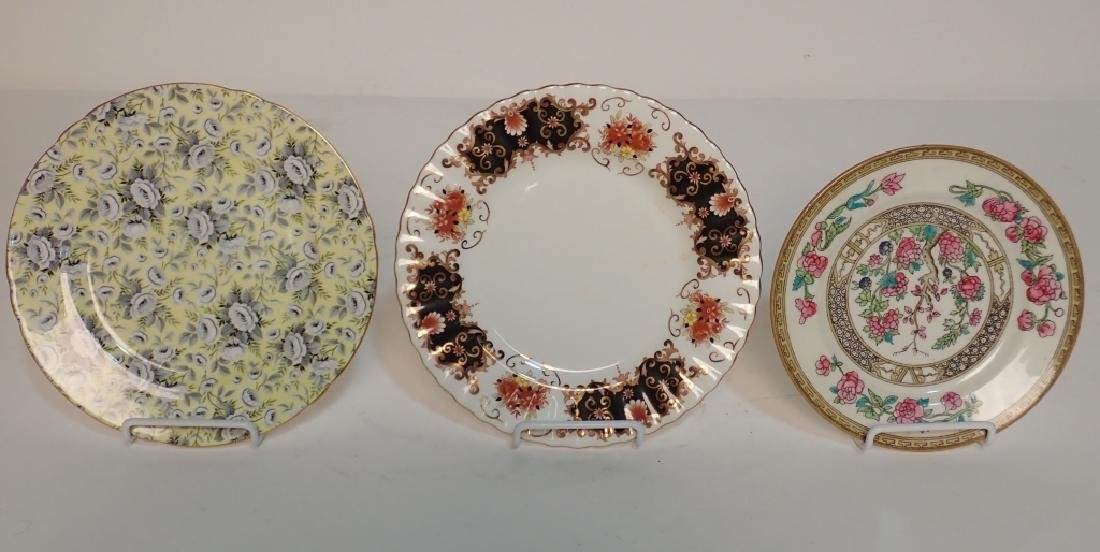 Grouping of Fine Bone China Tea Cup & Saucer Sets - 8