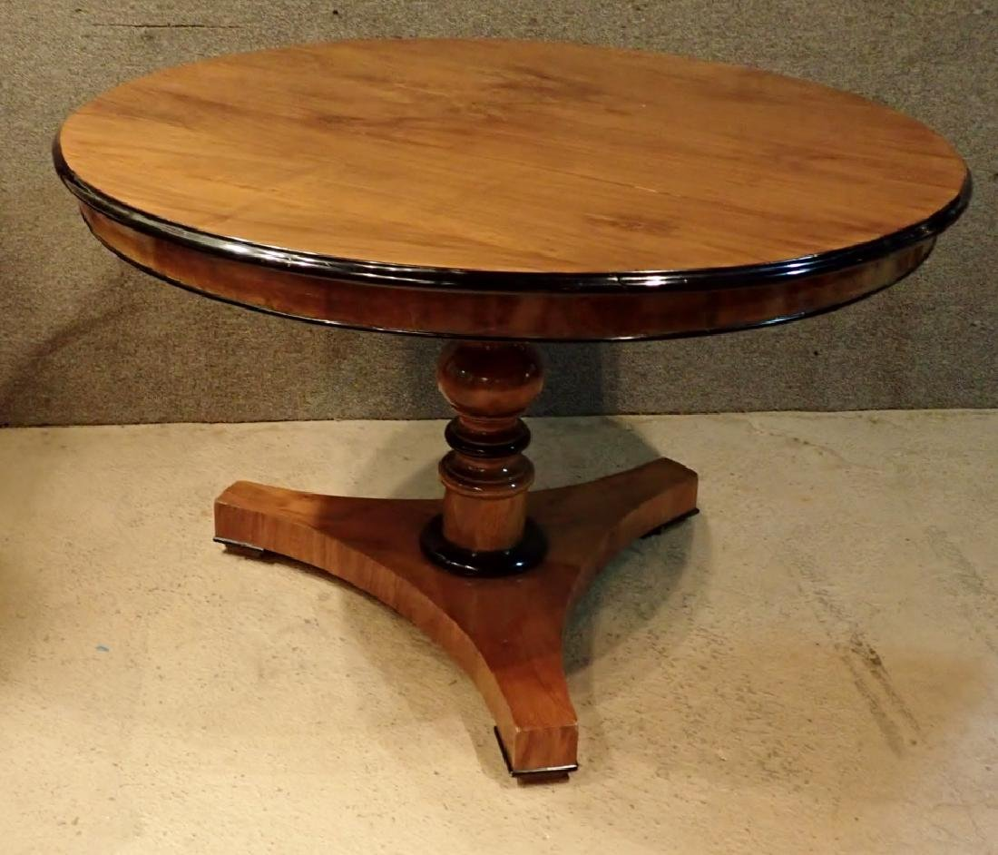 English 19th Century Mahogany Center Table