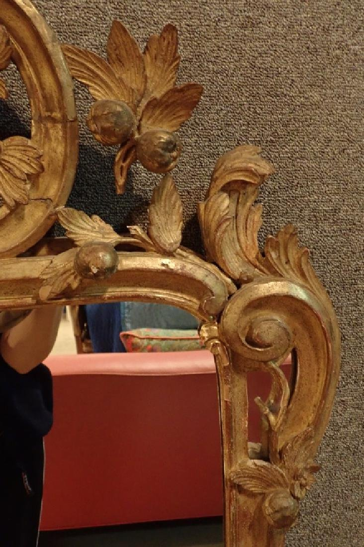 Antique Carved Gilt Mirror - 4