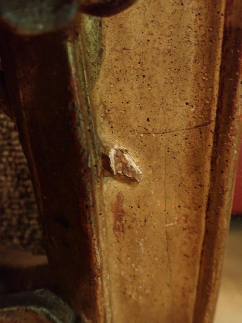 Antique Carved Gilt Mirror - 7