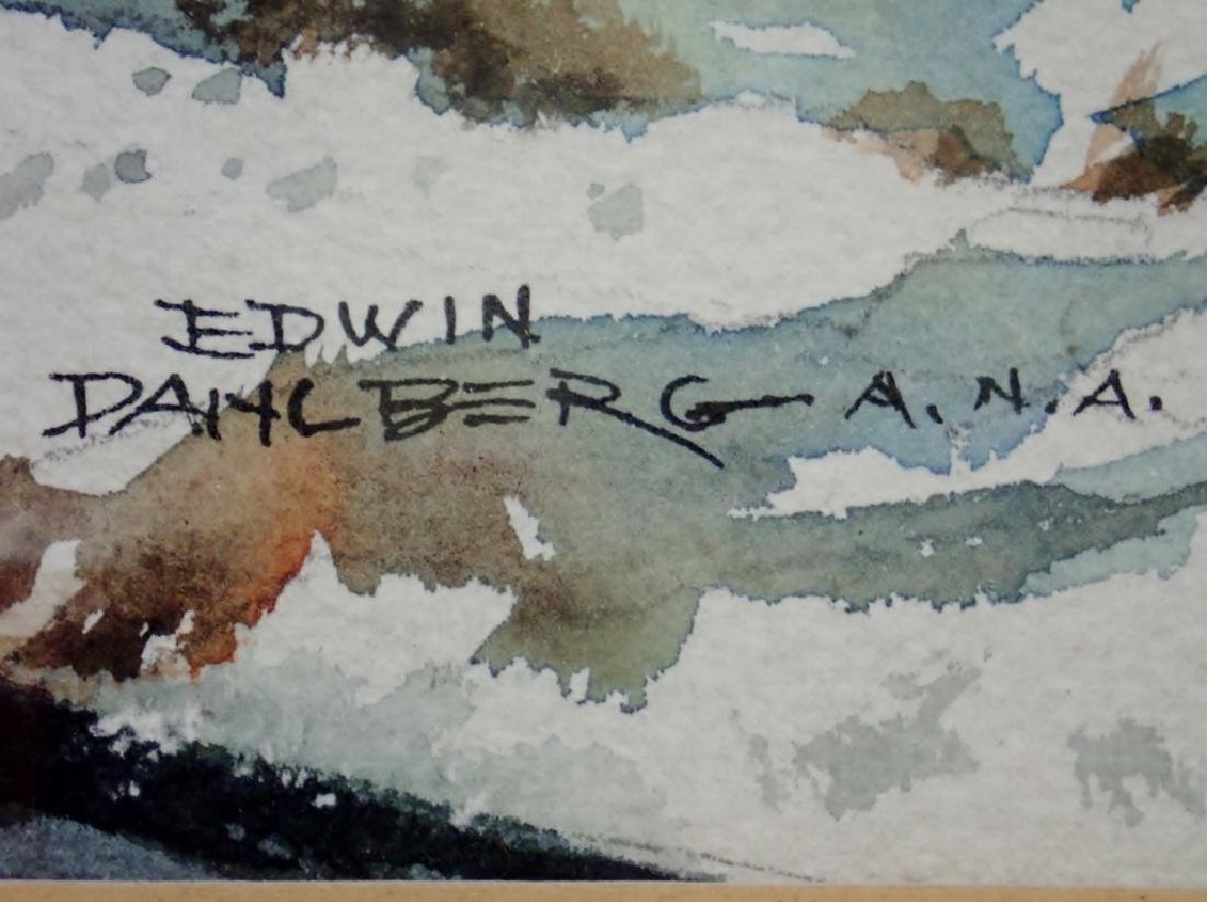 Edwin Dahlberg A.N.A (1901-1984), American - 5