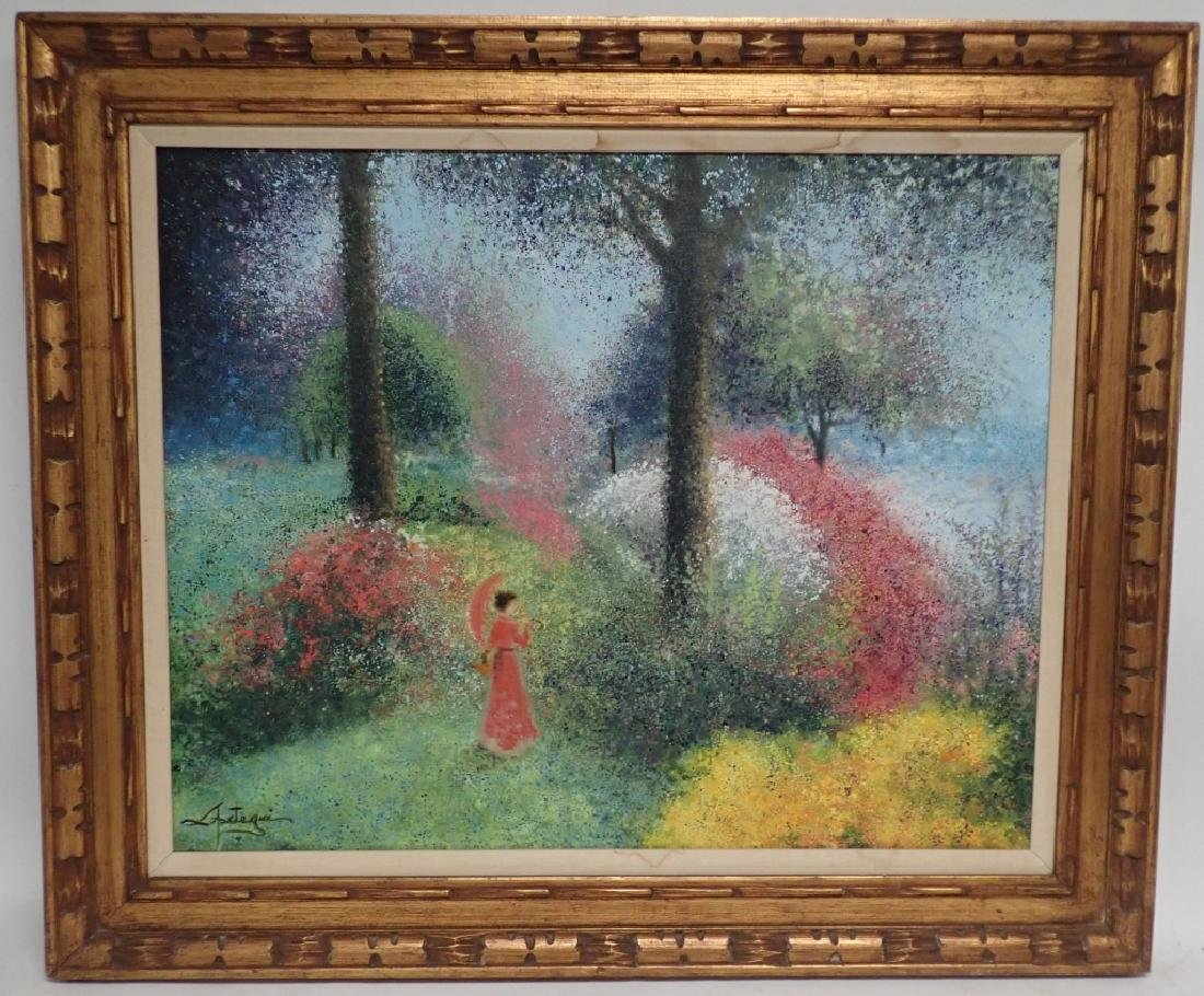 Signed Impressionism Painting