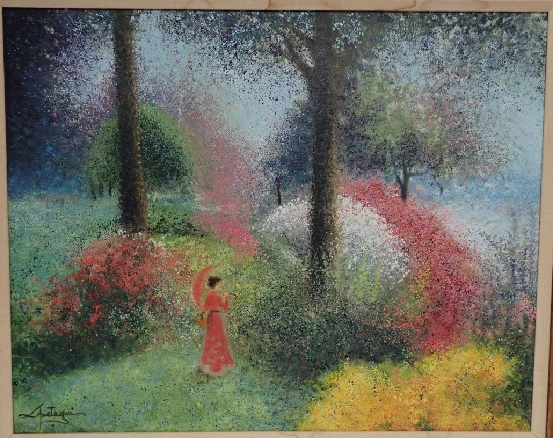 Signed Impressionism Painting - 2