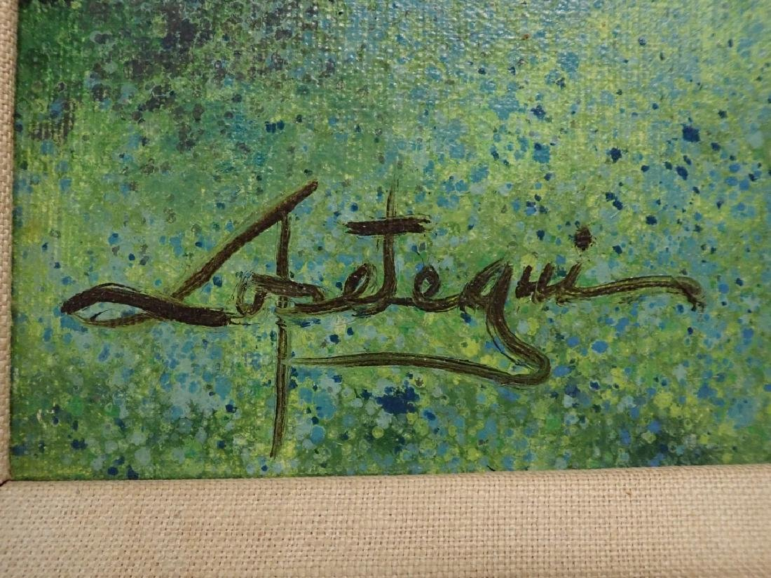Signed Impressionism Painting - 3