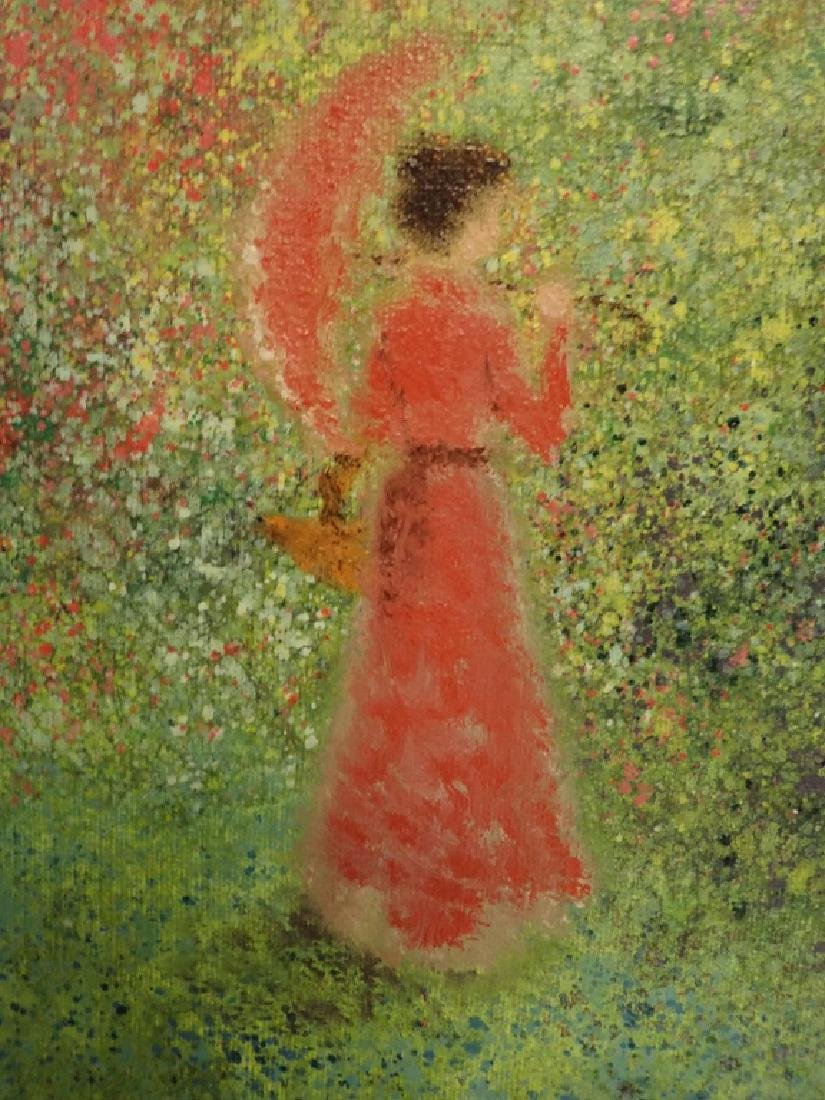 Signed Impressionism Painting - 4