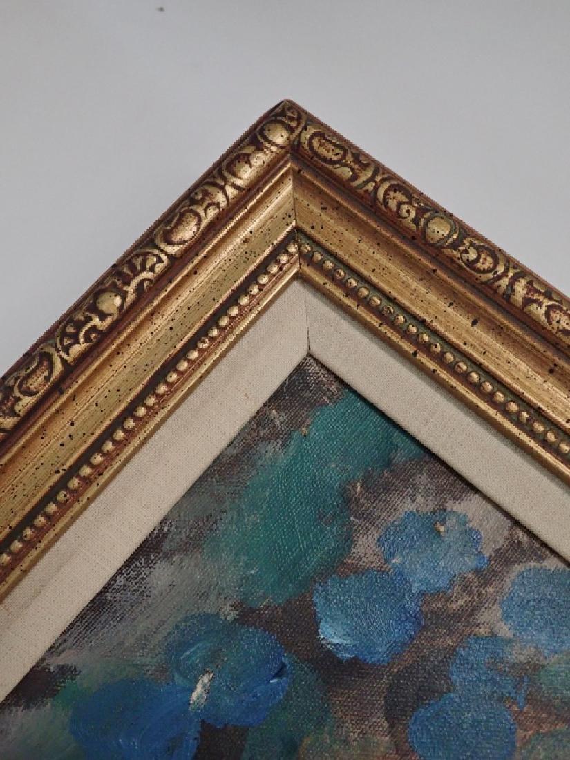 Framed Signed Painting of Dancers - 4