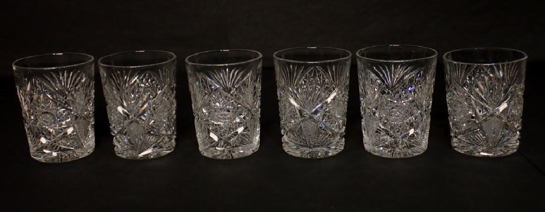 Grouping of Cut Crystal Serving Ware - 2