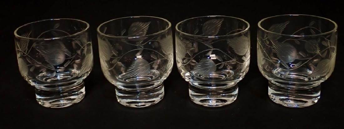 Grouping of Cut Crystal Serving Ware - 3