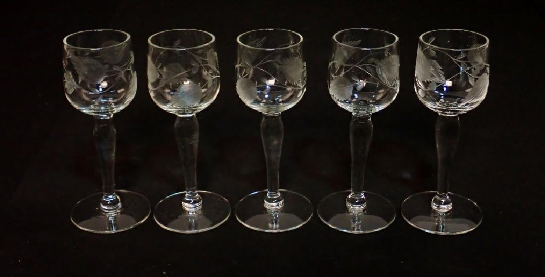 Grouping of Cut Crystal Serving Ware - 4