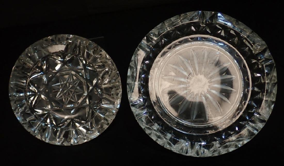 Grouping of Cut Crystal Serving Ware - 7