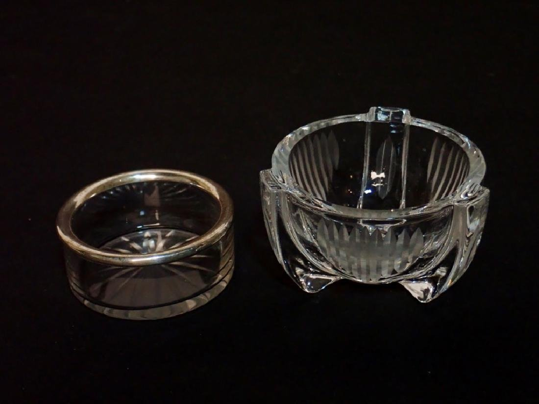 Grouping of Cut Crystal Serving Ware - 9