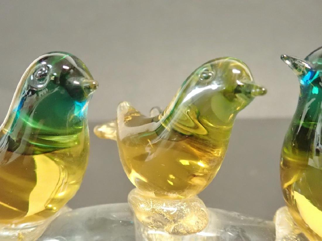 Venetian Glass Bird Sculpture - 5