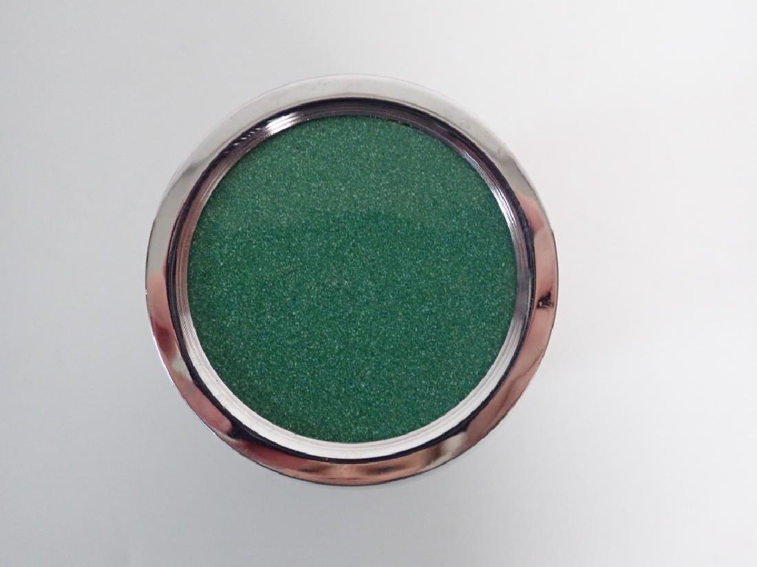 Asain Jade Green Cloisonne Vase - 8