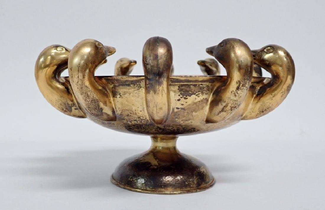 Lalaounis Vermeil Sterling Duck Bowl - 6