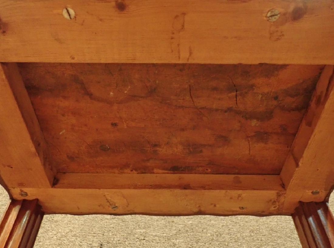 Anglo-Indian Zebra Wood Tea Box Table W Inlaid Drawers - 8