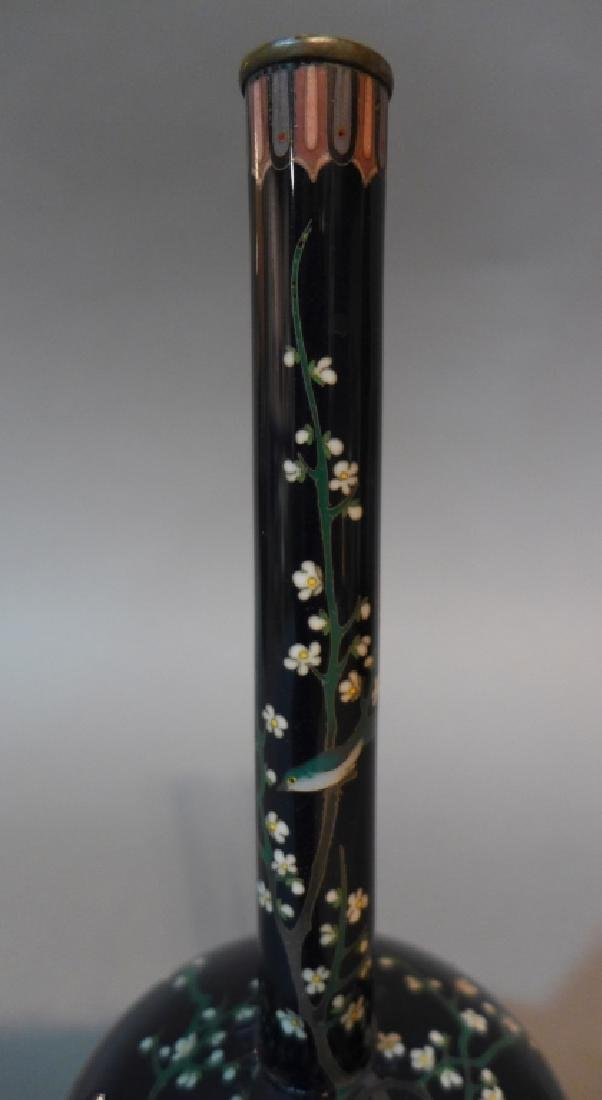 Japanese Cloisonne Vase - 4