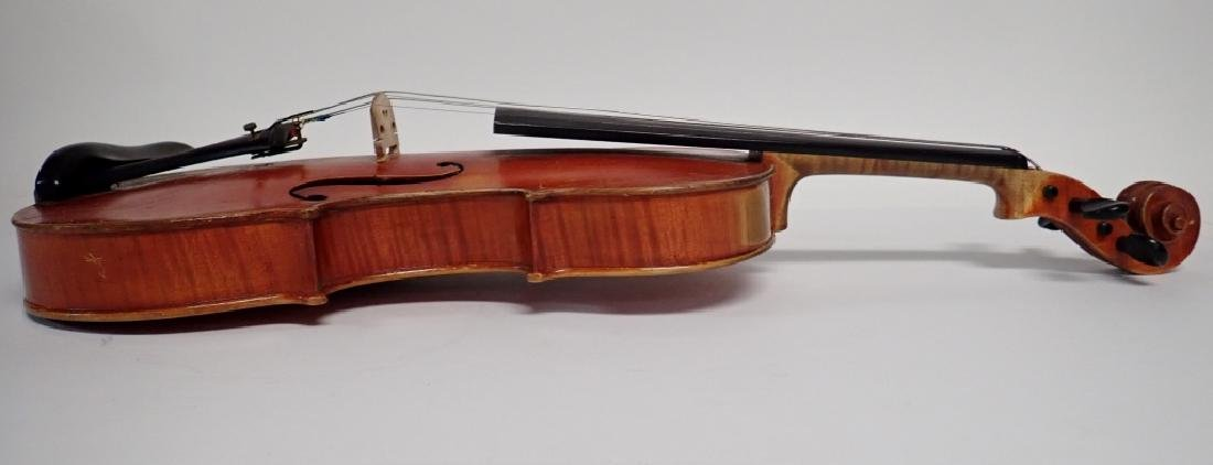 Vintage German Heinrich Heberlein Violin with Case - 5