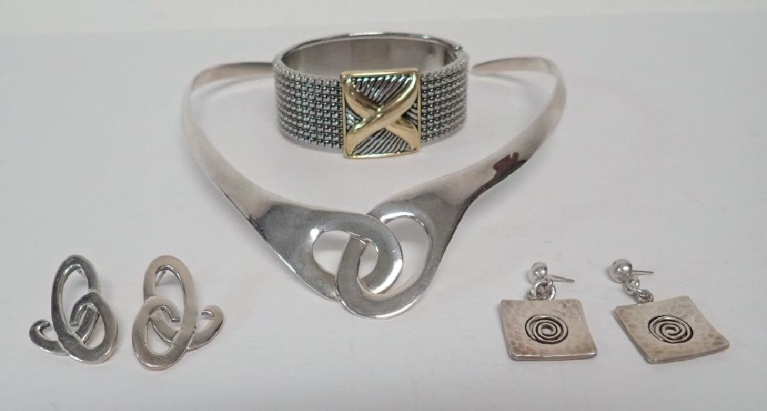 Modern Sterling Silver Jewelry Assortment