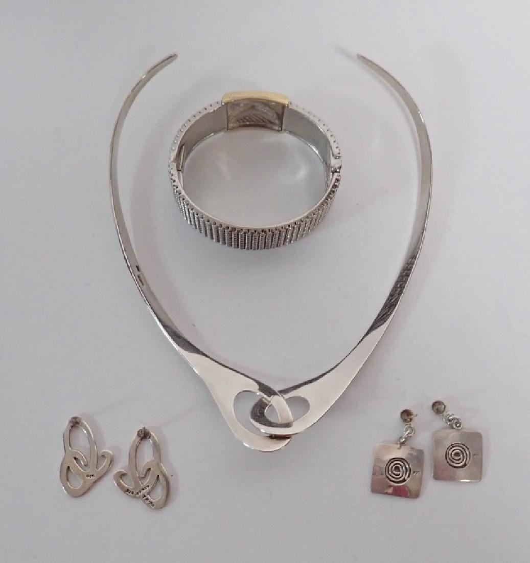 Modern Sterling Silver Jewelry Assortment - 2
