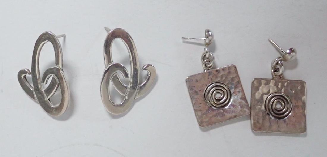 Modern Sterling Silver Jewelry Assortment - 7