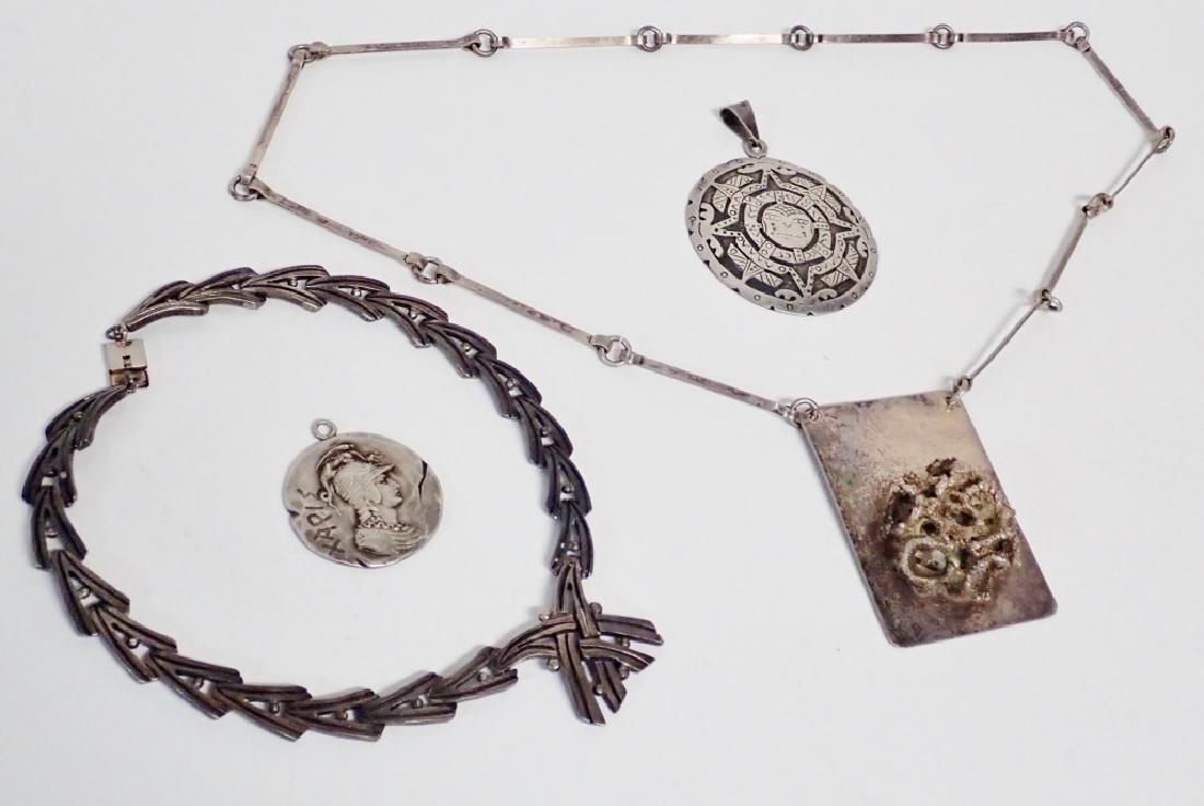 Collection of Mexico Sterling Silver Jewelry