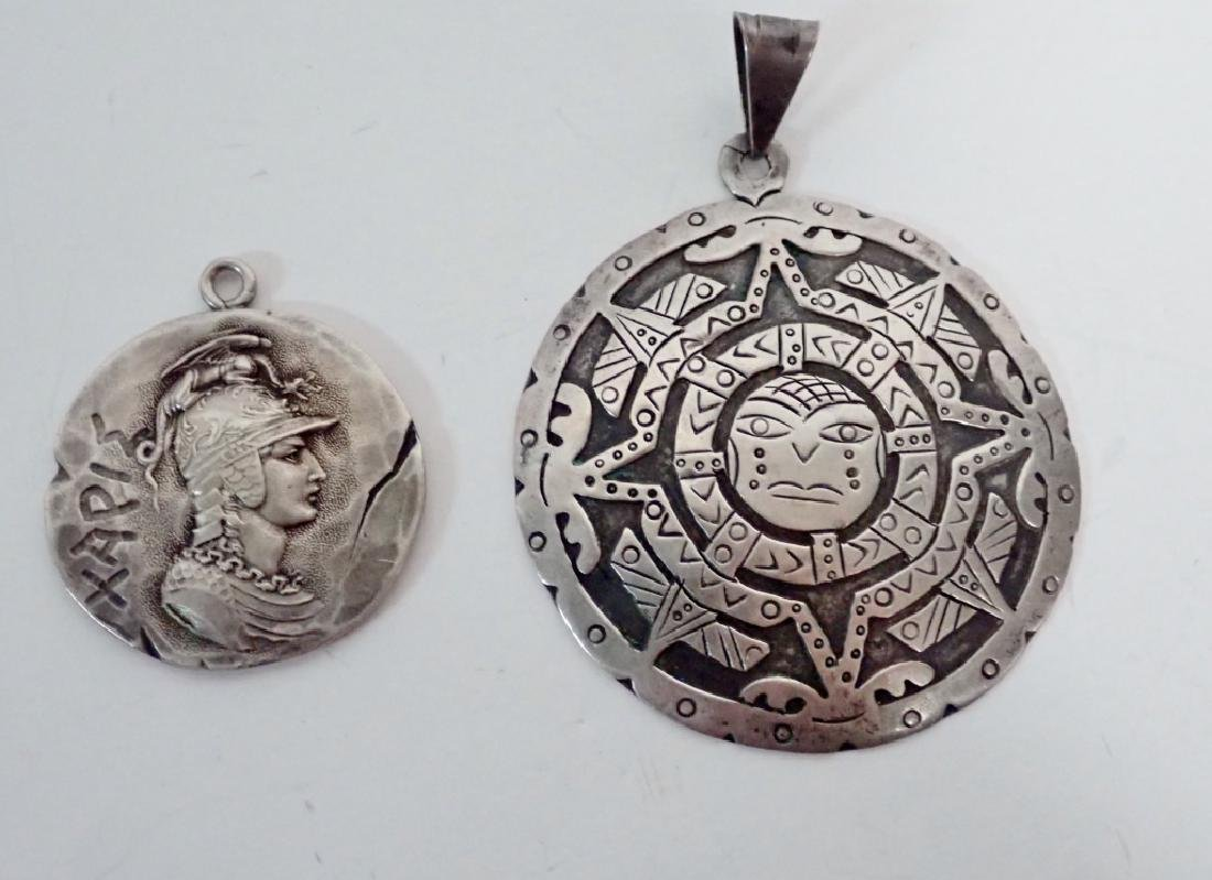 Collection of Mexico Sterling Silver Jewelry - 5
