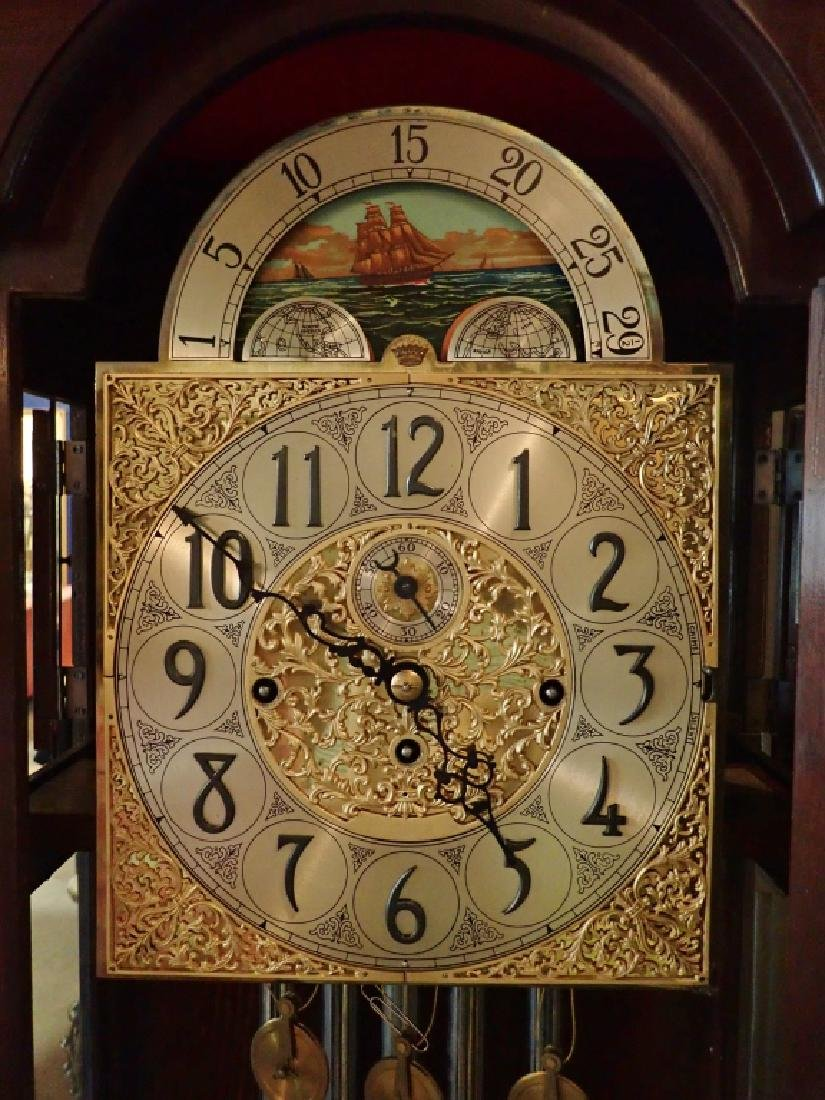 Herschede Hall Grandfather Clock - 2