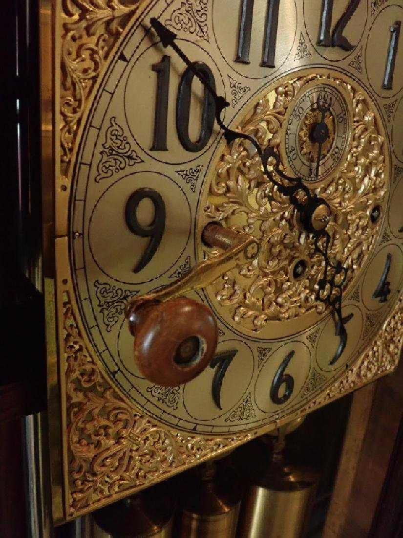 Herschede Hall Grandfather Clock - 7