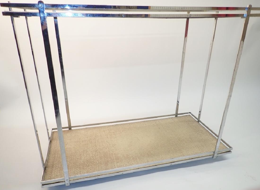 Mid-Century Modern Rolling Bar Cart - 10