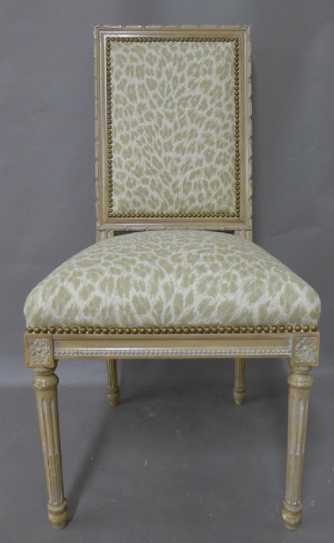 Louis XVI Style Accent Chair - 2