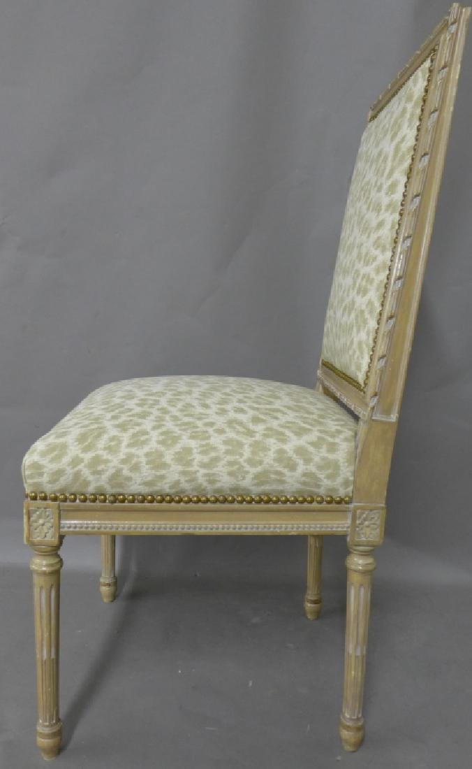 Louis XVI Style Accent Chair - 3