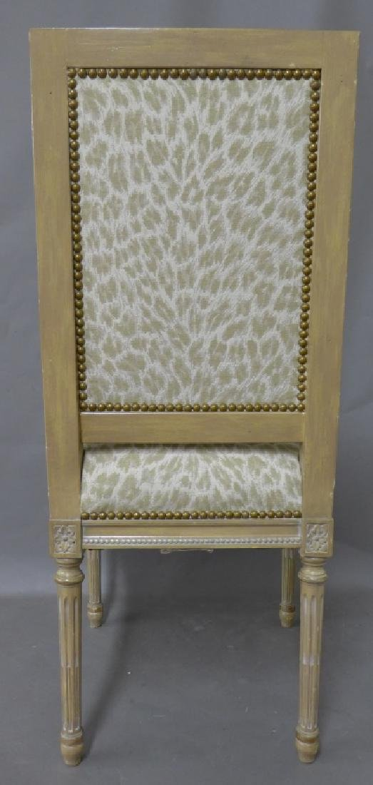 Louis XVI Style Accent Chair - 4